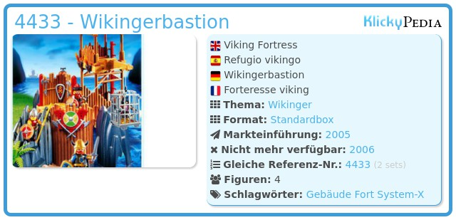 Playmobil 4433 - Wikingerbastion