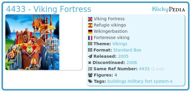 Playmobil 4433 - Viking Fortress