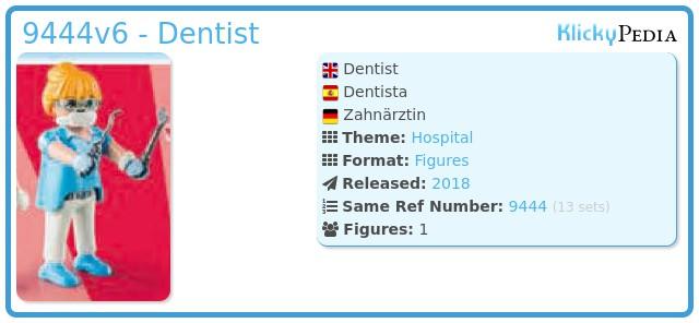 Playmobil 9444v6 - Dentist