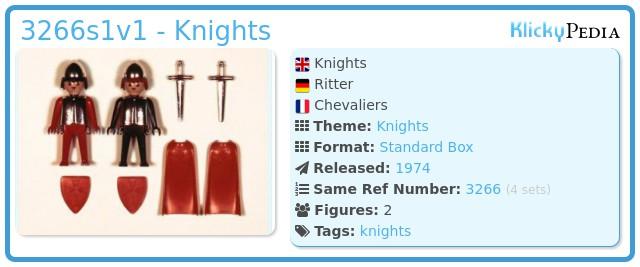 Playmobil 3266s1v1 - Knights