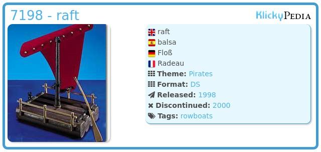 Playmobil 7198 - raft
