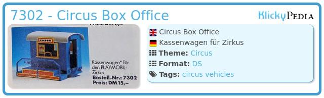 Playmobil 7302 - Circus Train Car