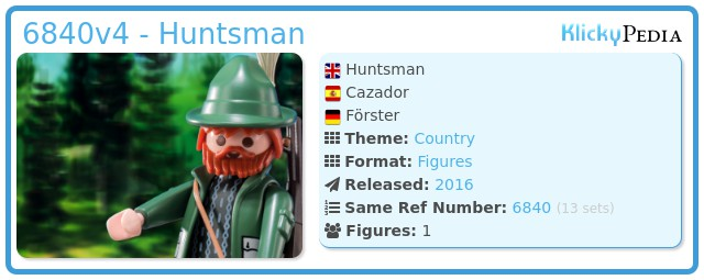 Playmobil 6840v4 - Huntsman