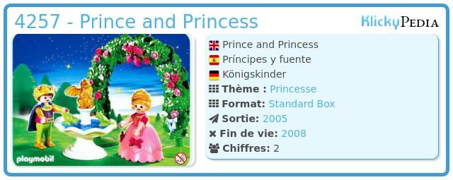 Playmobil 4257 - Prince and Princess