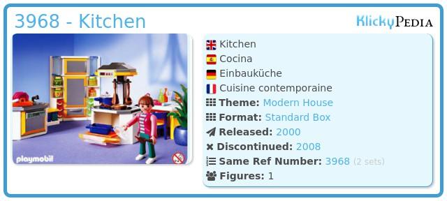 Playmobil 3968 - Kitchen
