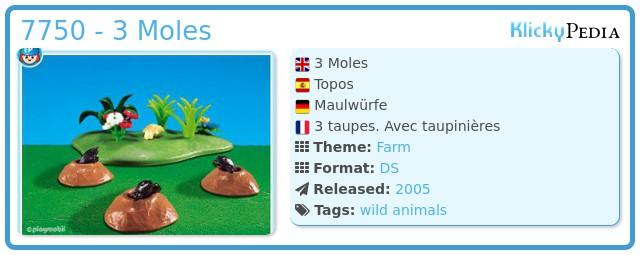 Playmobil 7750 - 3 Moles