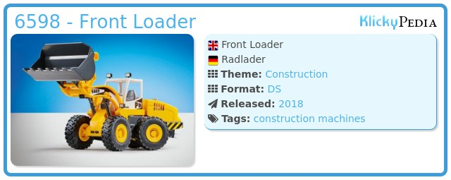 Playmobil 6598 - Front Loader