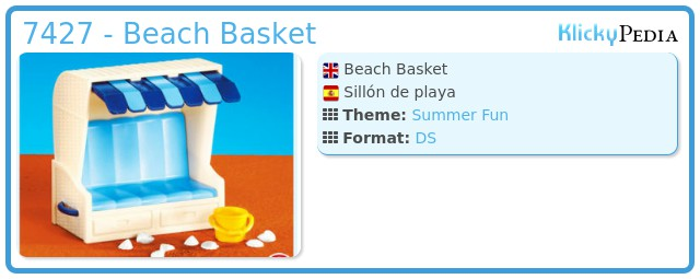 Playmobil 7427 - Beach Basket