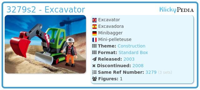 Playmobil 3279s2 - Excavator