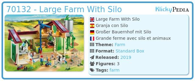 Playmobil 70132 - Großer Bauernhof mit Silo