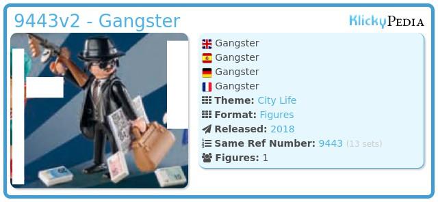 Playmobil 9443v2 - Gangster