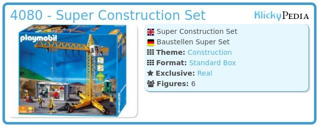 Playmobil 4080 - Super Construction Set