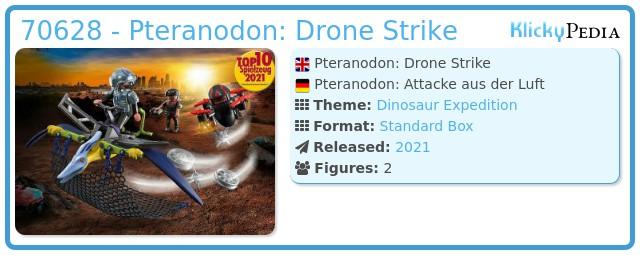 Playmobil 70628 - Dino Rise Pteranodon: Drone Strike