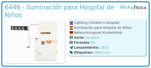 Playmobil 6446 - Iluminación para Hospital de Niños
