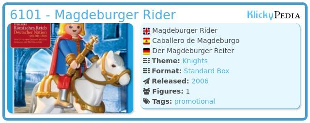Playmobil 6101 - Magdeburger Rider