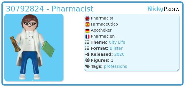 Playmobil 30792824 - Pharmacist