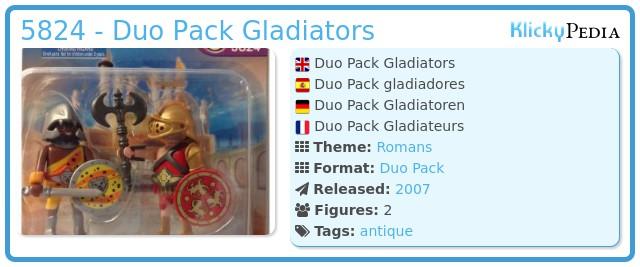 Playmobil 5824 - Duo Pack Gladiators