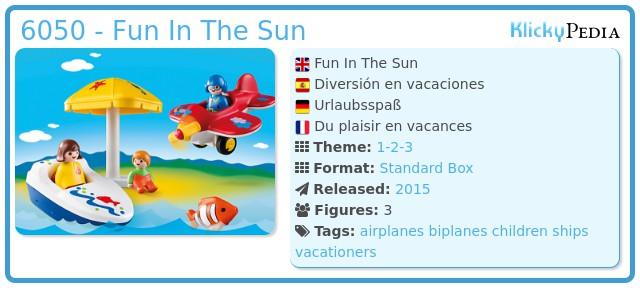 Playmobil 6050 - Fun on vacation