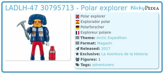 Playmobil LADLH-47 - Polar explorer