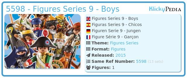 Playmobil 5598 - Figures Series 9 - Boys