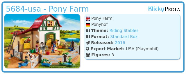 Playmobil 5684-usa - Pony Farm