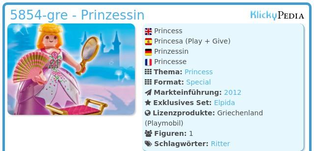 Playmobil 5854-gre - Princess