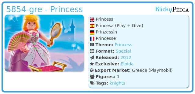 Playmobil 5854-gre - Princess