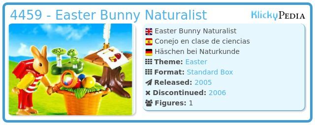 Playmobil 4459 - Easter Bunny Naturalist