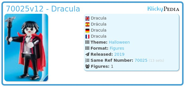 Playmobil 70025v12 - Dracula