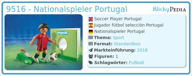 Playmobil 9516 - Nationalspieler Portugal