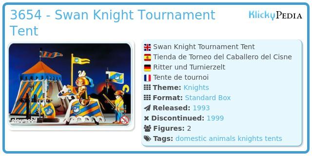 Playmobil 3654 - Knights Tournament Tent