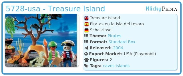 Playmobil 5728-usa - Treasure Island