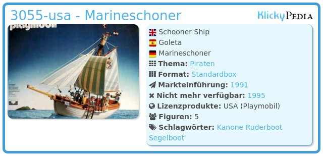 Playmobil 3055-usa - Marineschoner