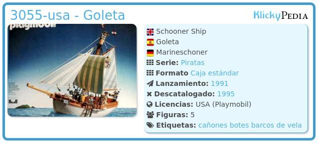 Playmobil 3055-usa - Goleta
