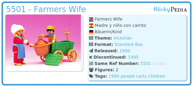 Playmobil 5501 - Farmers Wife