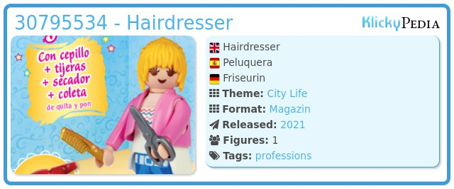 Playmobil 30795534 - Hairdresser