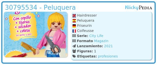 Playmobil 30795534 - Peluquera