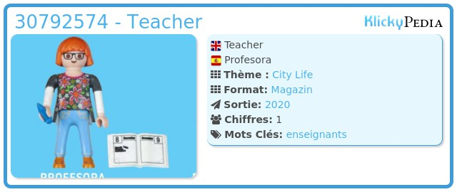 Playmobil 30792574 - Teacher