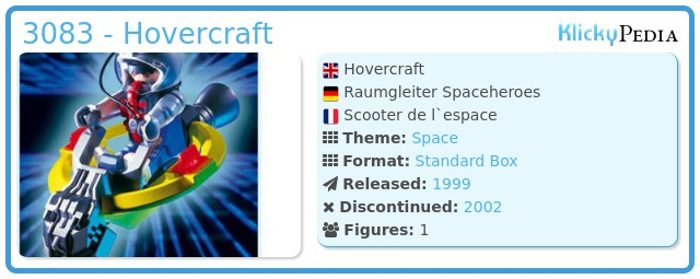 Playmobil 3083 - Hovercraft