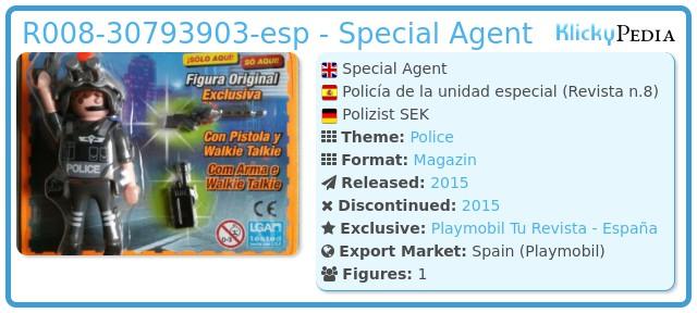 Playmobil R008-30793903-esp - Special Agent