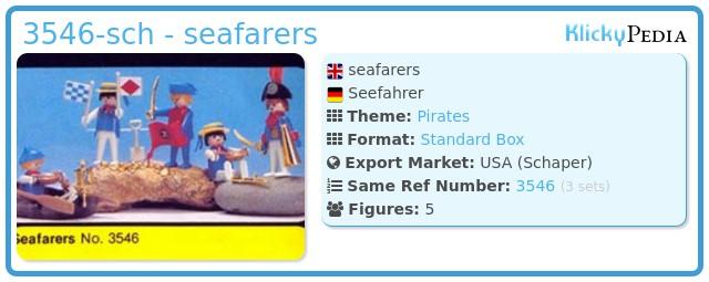 Playmobil 3546-sch - seafarers