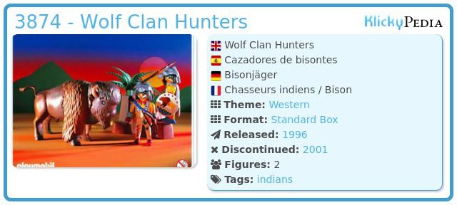 Playmobil 3874 - Bison Hunters