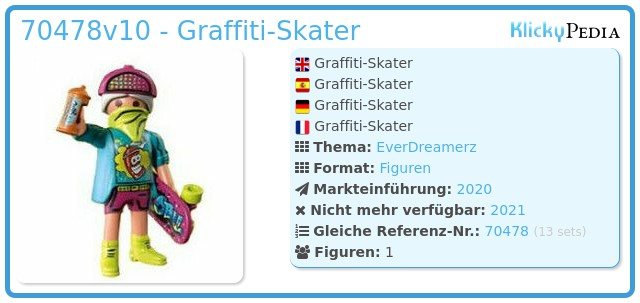 Playmobil 70478-10 - Graffiti-Skater