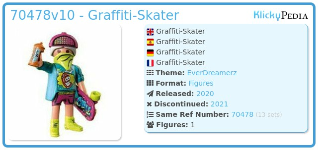 Playmobil 70478-10 - Graffiti-Skater