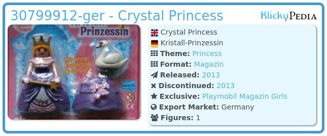 Playmobil 30799912-ger - Crystal Princess