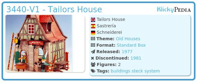 Playmobil 3440 - Tailors House