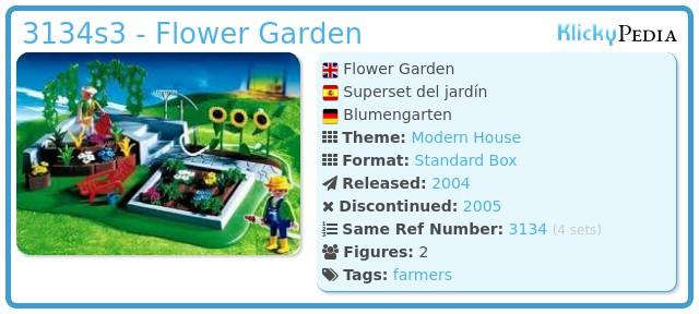 Playmobil 3134s3 - Flower Garden