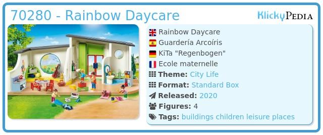 Playmobil 70280 - Rainbow Daycare