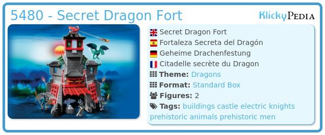 Playmobil 5480 - Secret Dragon Fort