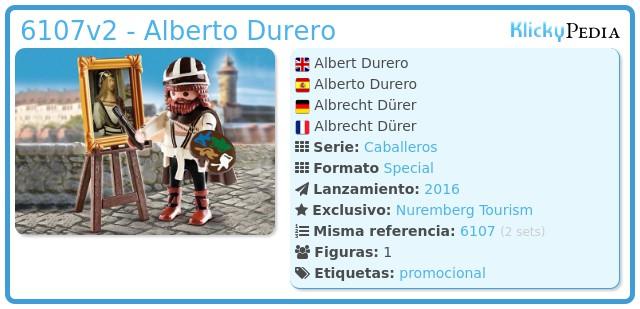 Playmobil 6107v2 - Alberto Durero